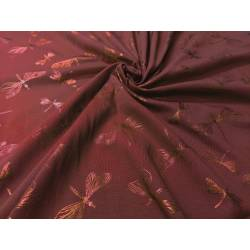 JERSEY FOLIA WAŻKI BORDO 14014/18